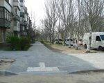 Доступне середовище: у Миколаєві оновлюють тротуари та облаштовують з'їзди. миколаїв, доступний, облаштування, тротуар, інвалідність