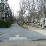 Світлина. Доступне середовище: у Миколаєві оновлюють тротуари та облаштовують з'їзди. Безбар'ерність, інвалідність, Миколаїв, облаштування, доступний, тротуар