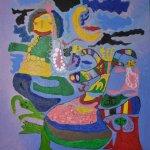 Світлина. У Херсоні відкривають галерею юних художників – дітей з аутизмом. Новини, аутизм, Херсон, виставка, художник, галерея