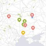 """Світлина. Пресреліз: Доступні та недоступні будівлі Сум з'явились на карті всеукраїнського мобільного додатку """"TosMap"""". Безбар'ерність, моніторинг, Суми, карта доступності, ГО Доступно UA, мобільний додаток TosMap"""