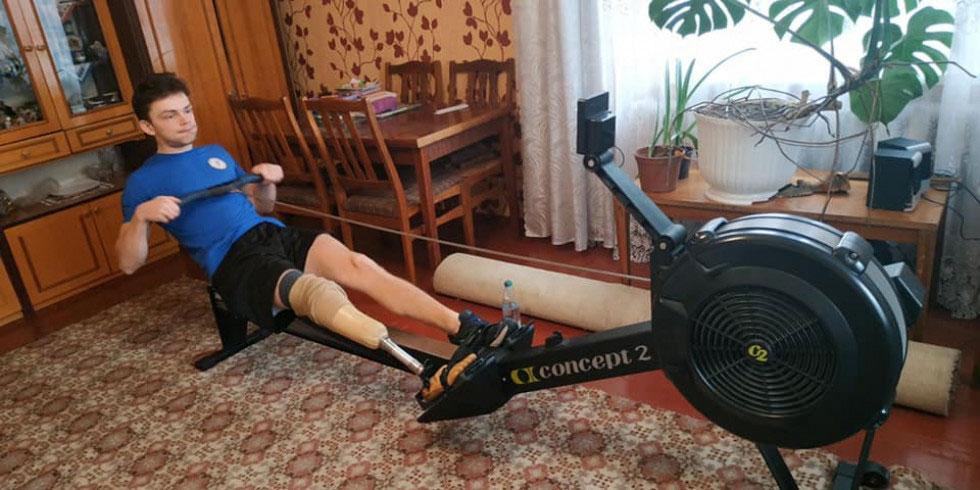Волинські паралімпійські спортсмени показали тренування в умовах карантину (ФОТО). волинь, змагання, карантин, спортсмен, тренування
