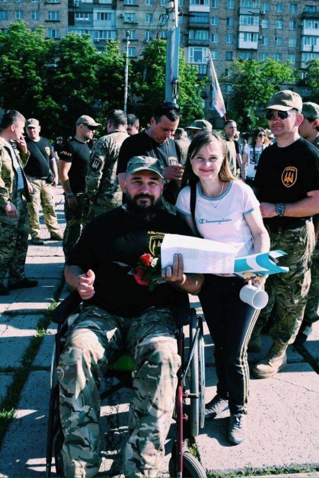 «Марафонський забіг» довжиною в кілька кроків. євген саленко, ветеран ато, поранення, інвалідний візок, інвалідність