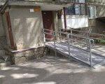 У цьому році біля 13 під'їздів облаштували пандуси. вінниця, будинок, пандус, під'їзд, інвалідність