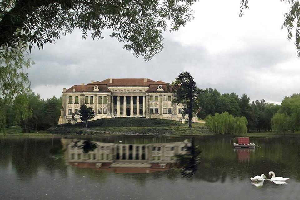 Давно зруйнований палац Любомирських у Рівному зможуть побачити усі (ФОТО). олексій муляренко, рівне, мініскульптура, незрячий, проєкт
