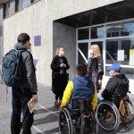 У Сумах міську раду перевірили на доступність для людей з інвалідністю (ФОТО)