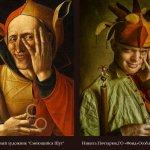 Світлина. По следам Изоизоляции: в Одессе особенные дети воссоздали сюжеты картин великих художников. Новини, инвалидность, Одесса, фотопроект, арт-терапия, фотокартина