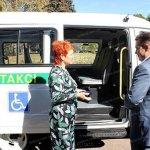 Світлина. «Соціальне таксі» у Кривому Розі возитиме діток з ДЦП та онкозахворюваннями. Безбар'ерність, ДЦП, соціальне таксі, послуга, Кривий Ріг, онкозахворювання