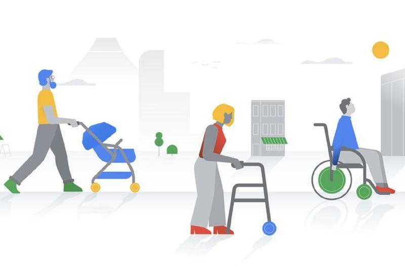 На Google Картах поліпшилася видимість місць для людей в інвалідних візках. google карти, місця доступності, адаптація, інвалідних візок, інвалідність