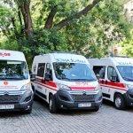Одеська «швидка» отримала унікальний автомобіль для перевезення пацієнтів з інвалідністю (ФОТО)