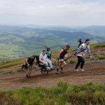Участник АТО из Закарпатья покорил гору Гемба на инвалидной коляске