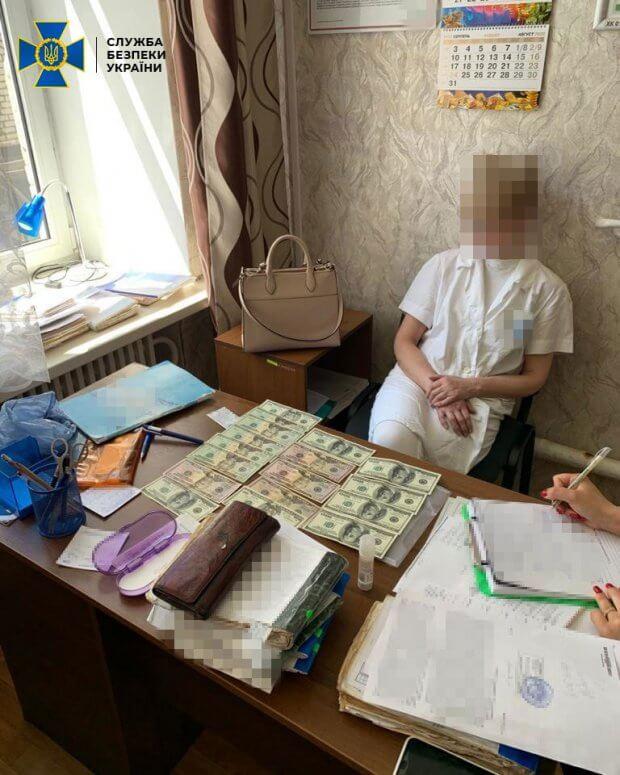 В Харькове СБУ и полиция задержали на взятке врача-психиатра. харьков, взятка, врач-психиатр, инвалидность, неправомерная выгода