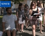 Група експертів та волонтерів проінспектували Чернігів на доступність для людей з інвалідністю (ВІДЕО). дмитро щебетюк, чернігів, доступність, перевірка, інвалідність