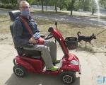 Для людей с инвалидностью город может стать доступнее. михаил лебедев, херсон, инвалидность, электромобиль, электроскутер