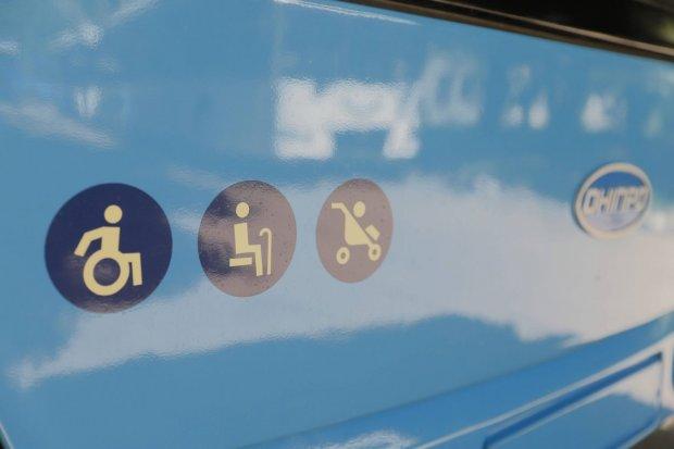 У Дніпрі відбувся перший тренінг з перевезення маломобільних пасажирів у громадському транспорті. дніпро, перевезення, транспорт, тренинг, інвалідність