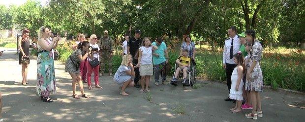 """На Херсонщині відбувся третій знімальний день проєкту """"Сильні духом"""". херсонщина, поліція, проєкт, сильні духом, інвалідність"""