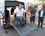 Проєкт «Соціальне таксі» запустили у Бердичеві (ФОТО). бердичів, доступність, проєкт, соціальне таксі, інвалідність