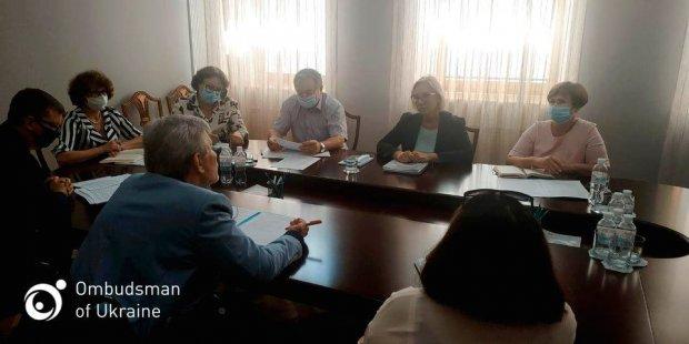Уповноважений обговорила з представником Президента з прав людей з інвалідністю можливість декриміналізації статті щодо порушення рівноправності громадян за дискримінаційними ознаками. кпк україни, вибори, експертиза, співпраця, інвалідність