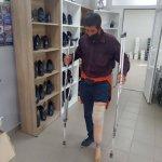 Безхатько з Вінниці отримав протез для втраченої кінцівки (ВІДЕО)