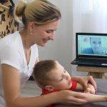 На Житомирщині терапевти-реабілітологи працюють з дітьми з інвалідністю в онлайн режимі (ФОТО, ВІДЕО)