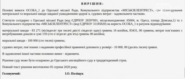 Одессит отсудил у мэрии 200 тысяч гривен. одесса, инвалидность, компенсація, мэрия, суд