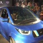 У Києві презентували електромобіль для людей з інвалідністю (ВІДЕО)