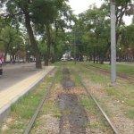 У Дніпрі презентували першу у місті спеціальну підвищену трамвайну платформу (ВІДЕО)