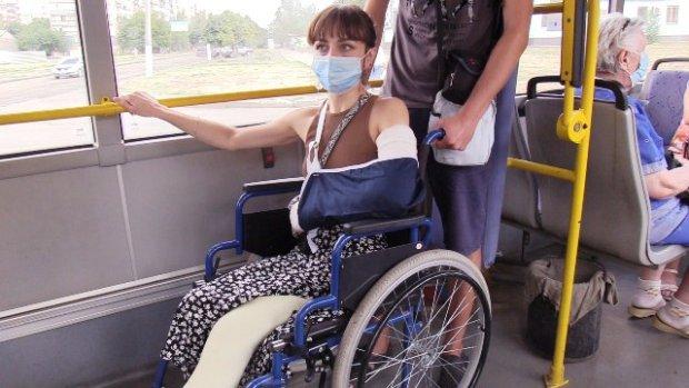 Опыт жительницы Краматорска Карины: как живется людям на инвалидной коляске?. краматорськ, доступность, инвалидная коляска, пандус, перелом
