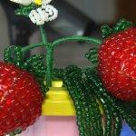 Світлина. Незряча житомирянка на Всеукраїнському фестивалі презентувала власні роботи із бісеру. Життя і особистості, фестиваль, незряча, бісер, Виктория Шевчук, бісероплетіння