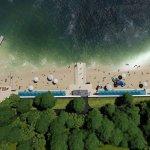 Світлина. На одеському «Дельфіні» облаштують пляж для осіб з інвалідністю. Безбар'ерність, інвалідність, проєкт, Одеса, пляж, відпочинок