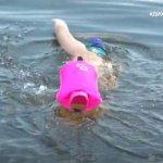 Переплив Дніпро: як 16-річний Микола Нижниковський без ніг та руки встановив рекорд України (ВІДЕО)