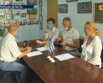 Закарпатські мандрівники батько й син Закутні завершили подорож Україною (ВІДЕО). закутні, реабілітаційний центр, мандрівник, мрія, подорож