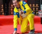 На Площі Зірок відкрили ще одну зірку паралімпійців (ФОТО). ігор цвєтов, площа зірок, досягнення, паралимпиец, рекорд