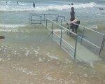 На запорізькому курорті почали облаштовувати перший на Азові інклюзивний пляж. азовське море, кирилівка, пандус, пляж, інвалідність
