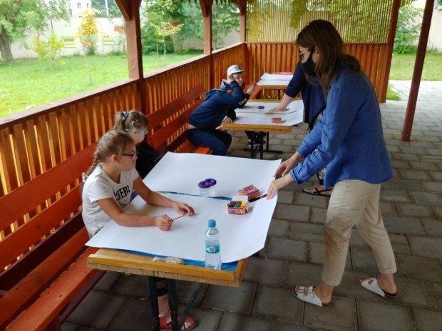 У Львові для школярів організували літній денний інклюзивний «Табір дружби». львів, табір дружби, особливими освітніми потребами, проект, інклюзія
