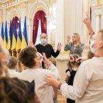 З ініціативи першої леді в Маріїнському палаці організовано екскурсії із сурдоперекладом (ФОТО)