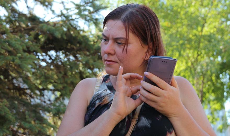У Дніпрі презентували мобільний додаток для людей з порушеннями зору. dnipro gps inclusive, дніпро, мобільний додаток, порушення зору, інвалідність