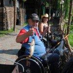 «Опинившись в інвалідному візку, не хотів жити, а тепер хочу літати від щастя!» - Валентин Шабунін