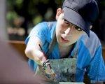 Портрет особливого художника (ВІДЕО). андрій лещинський, геріатричний пансіонат, сирота, художник, інвалідність
