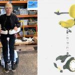 Архітектор створила інвалідний візок-сіґвей, на якому можна пересуватися стоячи (ВІДЕО)