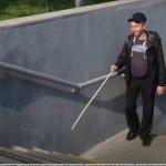 Міжнародний день «білої тростини»: люди з вадами зору розповіли, з якими проблемами стикаються в Києві (ВІДЕО)