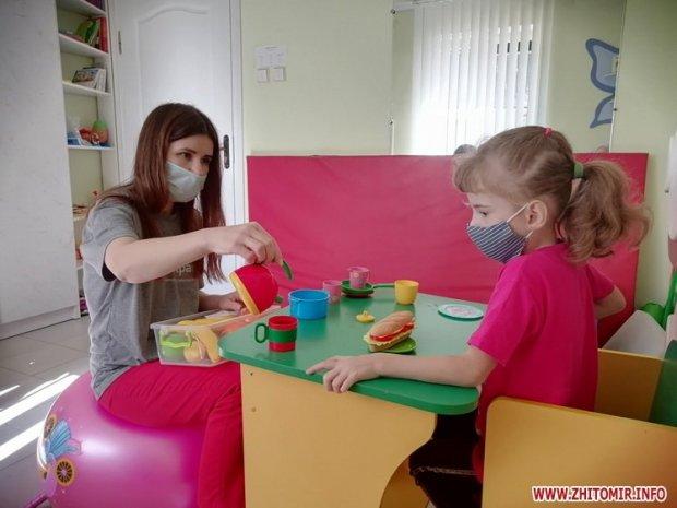Понад 500 діток з Житомирської області отримали послуги медико-соціальної реабілітації від Міжнародного благодійного фонду. житомирська область, мбф місія в україну, послуга, спілкування, інвалідність