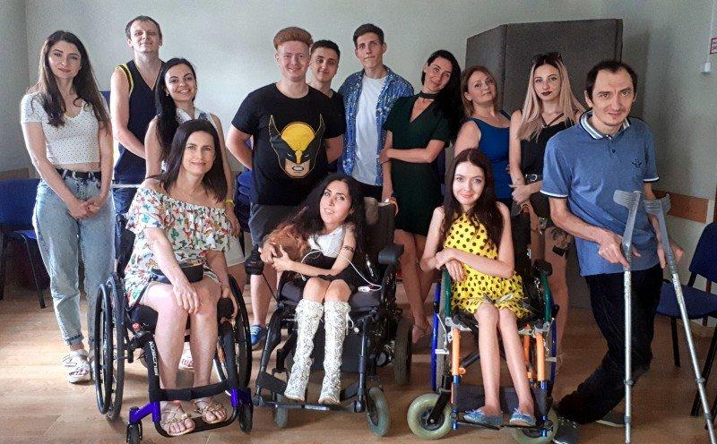 У Запоріжжі інклюзивна театральна трупа планує показувати вистави онлайн. запоріжжя, вистава, карантин, театральна трупа, інвалідність
