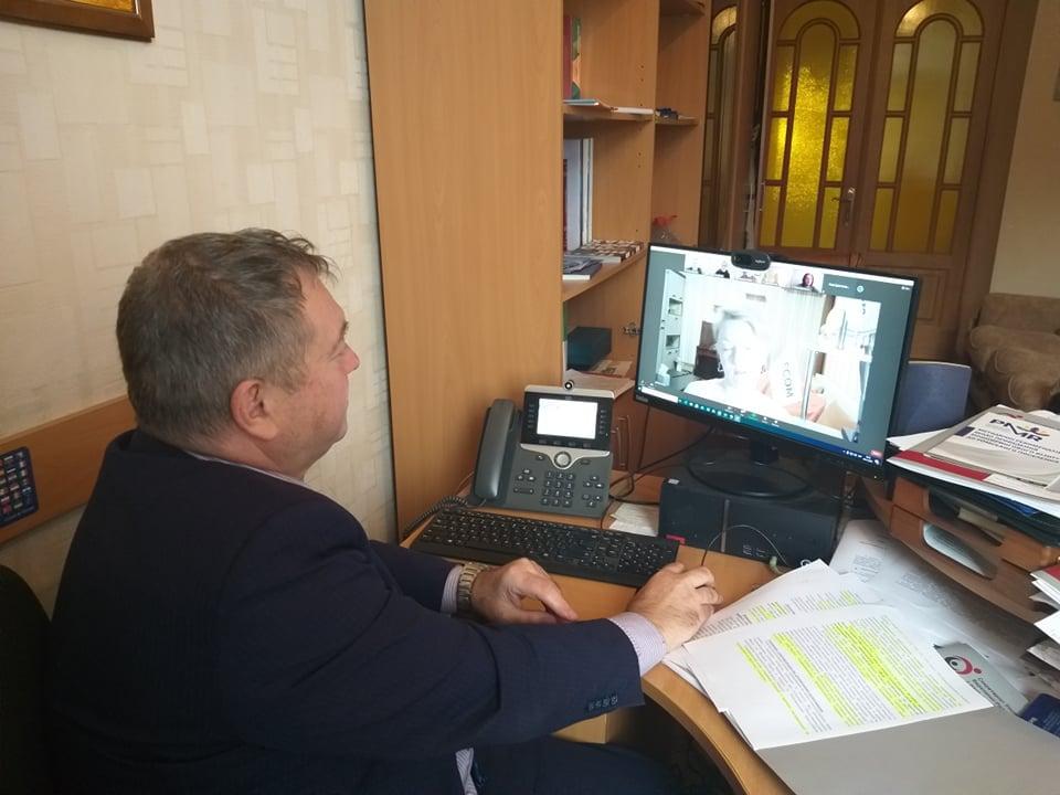 Представник Уповноваженого Віктор Іванкевич взяв участь у презентації інформаційної записки щодо впливу пандемії COVID-19 на людей з інвалідністю в Україні. covid-19, віктор іванкевич, оон, пандемія, інвалідність