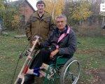 На футбольний матч — у інвалідному візку. олег охріменко, оптимізм, підтримка, інвалідний візок, інвалідність