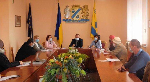 В РДА відбулося засідання Координаційної ради у справах осіб з інвалідністю. координаційна рада, рда, стрий, засідання, інвалідність