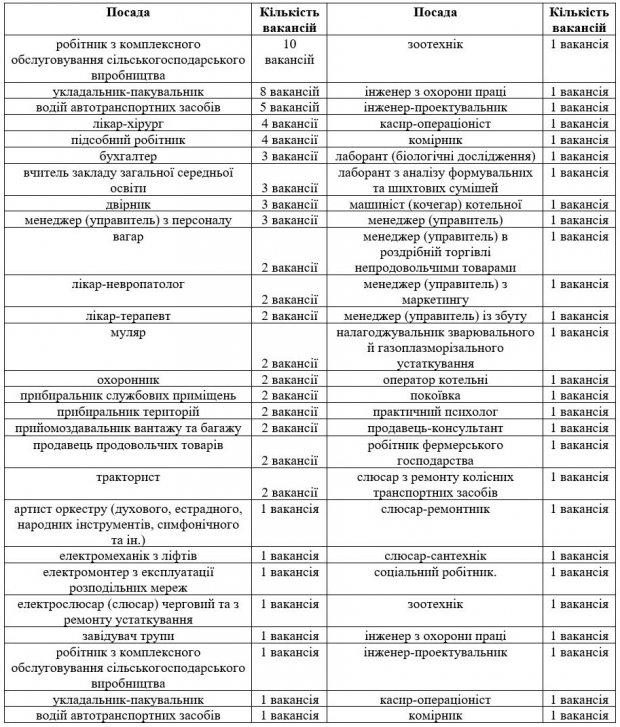 На Кіровоградщині зареєстровано 90 вакансій для осіб з інвалідністю. кіровоградщина, безробітний, вакансія, центр зайнятості, інвалідність