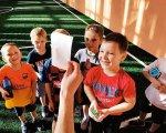 Долучають особливих дітей до футболу. донеччина, футбольна академія footystar, тренування, футбол, інвалідність