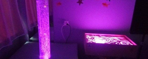 У Кропивницькому в інклюзивно-ресурсному центрі відкрили сенсорну кімнату. кропивницький, дитина, підтримка, сенсорна кімната, інклюзивно-ресурсний центр