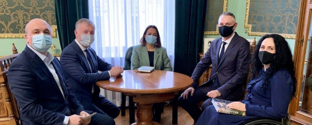 На Буковині призначили представницю Уповноваженого з прав людей з інвалідністю (ВІДЕО). буковина, валентина добридіна, уповноважений, доступність, інвалідність