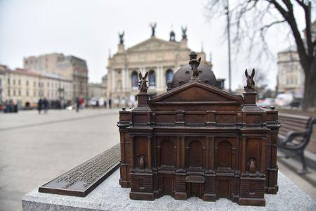 Люди із вадами зору зможуть на дотик побачити красу архітектури Львівської опери. львівська опера, вади зору, модель, проект, театр